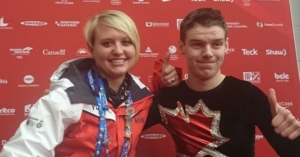 Canada Winter Games. Athlete and coach.