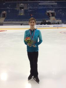 Roman Sadovsky Junior Grand Prix gold.